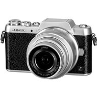 Panasonic LUMIX DMC-GF7 silver + 12-32mm lens - Digital Camera