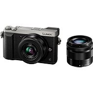Panasonic LUMIX DMC-GX80 Silver + 12-32mm lens + 35-100mm lens - Digital Camera