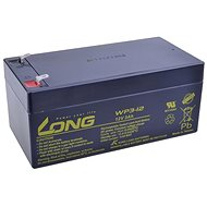 Long 12V 3Ah Lead Acid Battery F1 (WP3-12) - Rechargeable battery