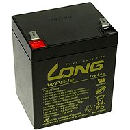 Long 12V 5Ah Lead Acid Battery F2 (WP5-12B F2)