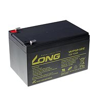 Long 12V 12Ah DeepCycle AGM F2 Lead Acid Battery (WP12-12E) - Rechargeable Battery