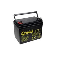 Long 12V 34Ah DeepCycle AGM F4 Lead Acid Battery (U1-34HE)