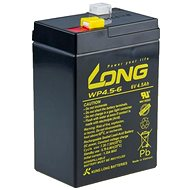 Long 6V 4.5Ah Lead Acid Battery F1 (WP4.5-6)