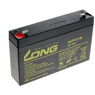 Long 6V 7Ah Lead Acid Battery F1 (WP7-6) - Rechargeable battery
