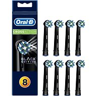 Oral-B replacement heads EB50 CrossAction Black 8-pack - Replacement Head