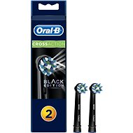 Oral-B Replacement Head EB50 CrossAction Black 2-pack - Toothbrush Replacement Head