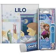 Oral-B Vitality Kids Frozen + Oral-B Toothpaste + Book - Electric Toothbrush for Children