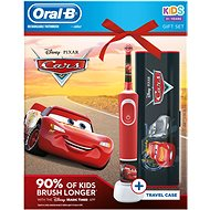 Oral-B Vitality Cars + Travel Case - Electric Toothbrush for Children