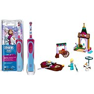 Oral-B Vitality Kids D12K Frozen + LEGO Disney 41155 Elsa's Market Adventure - Set