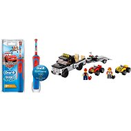 Oral-B Vitality Kids Cars + LEGO City 60148 ATV Race Team - Set