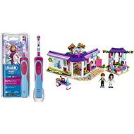 Oral-B Vitality Kids D12K Frozen + LEGO Friends 41336 Emma's Art Cafe - Set