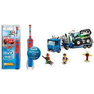 Oral-B Vitality Kids Cars + LEGO City 60223 Harvester Transport - Set
