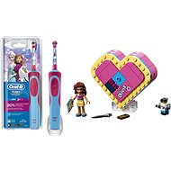 Oral-B Vitality Kids D12K Frozen + LEGO Friends 41357 Olivia's Heart Box - Set