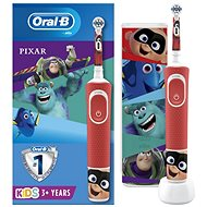 Oral-B Vitality Kids Pixar + Travel Case - Electric Toothbrush for Children