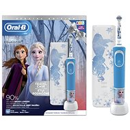 Oral-B Vitality Kids Frozen II + Travel Case - Electric Toothbrush for Children