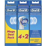 Oral-B Precision Clean 6 Pieces - Toothbrush Replacement Head