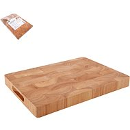 ORION Rubber Wood Cutting Board 35 x 25 x 3,3cm - Chopping Board
