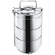 ORION Food Carrier stainless steel 3x 14cm