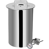 ORION Stainless-steel Ham Cooker with Thermometer, 10cm - Ham Maker