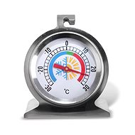Stainless-steel/Glass Refrigerator Thermometer - Thermometer