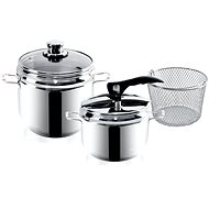 ORION Pressure Cooker PROFI 5l + 3.5l DUO stainless steel - Pressure Cooker