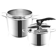 ORION Pressure Cooker Stainless Steel PROFI 7l + 4l Duo - Pressure Cooker