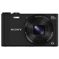 Sony CyberShot DSC-WX350 Black - Digital Camera