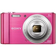 Sony CyberShot DSC-W810 Pink - Digital Camera