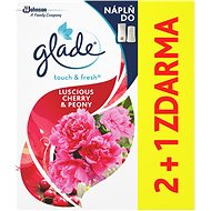 GLADE by Brise One Touch Refill 2+1 Seductive Peony and Cherry (3x10ml) - Air Freshener