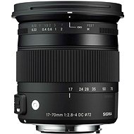 SIGMA 17-70mm F2.8-4 DC MACRO OS HSM for Canon (Contemporary Series) - Lens