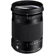 SIGMA 18-300 mm F3.5-6.3 DC MACRO OS HSM for Nikon (Contemporary Series) - Lens