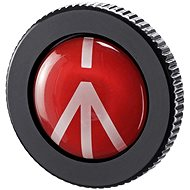 Manfrotto ROUND-PL, Compact Activated Replacement Tripod Plate - Accessories
