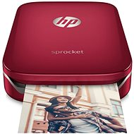 HP Sprocket Photo Printer Red - Mobile printer