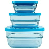 PASABAHCE GOURMET, 3pcs - Food Container Set