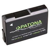 PATONA for Nikon EN-EL14 1050mAh Li-Ion Premium - Camera battery