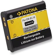 PATONA for Nikon EN-EL19 600mAh Li-Ion - Camera Battery