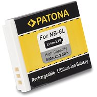 PATONA for Canon NB-6L 800mAh Li-Ion - Camera battery