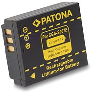 PATONA for Panasonic CGA-S007E Li-Ion 1000mAh Li-Ion - Camera Battery