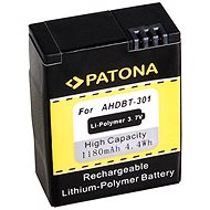 PATONA for GoPro HD Hero 3 1180 mAh Li-Ion - Camera battery