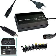 PATONA to NTB / 100W to 240V/ 12V-24V / USB / 8 Connectors / Universal / Mains and Car - Adapter