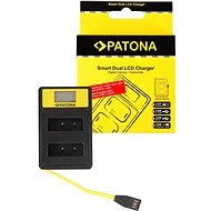 PATON Dual Charger for Olympus PS-BLS1 with LCD, USB - Charger