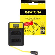 PATONA Dual Charger for Canon LP-E12 with LCD, USB - Charger