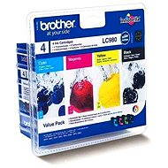 Brother LC-980 Value Pack - Cartridge Set