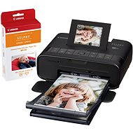 Canon SELPHY CP1200 black + FREE RP-54 paper pack - Dye-sublimation Printer