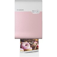 Canon SELPHY Square QX10 Pink KIT (incl. 20pcs of paper) - Dye-sublimation Printer