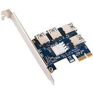 ANPIX adapter from PCIe x1 to 4x USB (PCIe riser) - Adapter