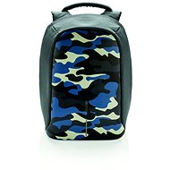 """XD Design Bobby anti-theft backpack 14"""", camouflage blue - Laptop Backpack"""