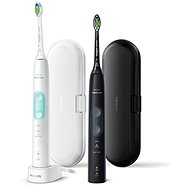 Philips Sonicare ProtectiveClean Gum Health Black and White HX6857/35 - Electric Toothbrush