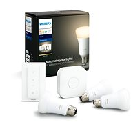 Philips Hue White 9W E27 Starter Kit - LED Bulb
