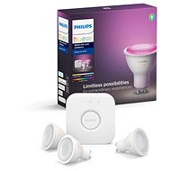 Philips Hue White and Color Ambiance 5.7W GU10 Starter Kit - LED bulb
